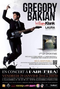 Concert Gregory Bakian et William Klank Alhambra 2016 BD